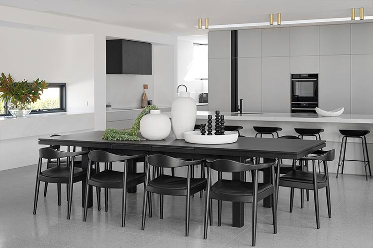 Melbourne Luxury Display Modern Dining Room