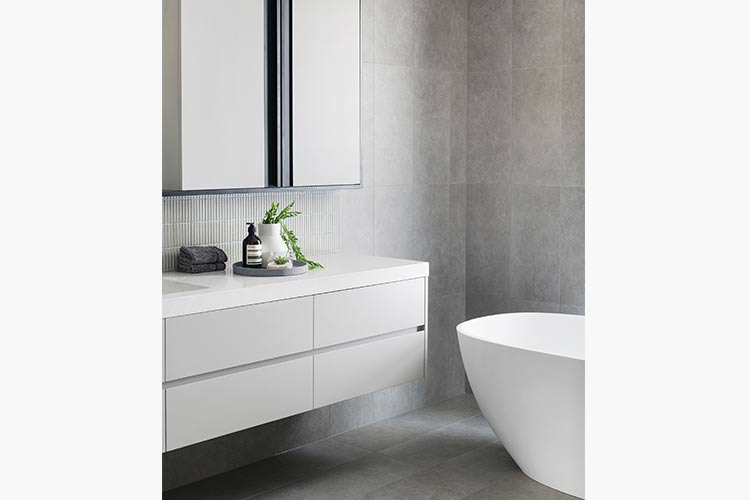 Melbourne Luxury Display Home Bathroom