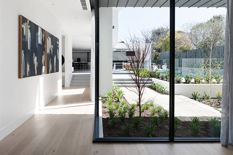 Melbourne Luxury Hallway Display Home