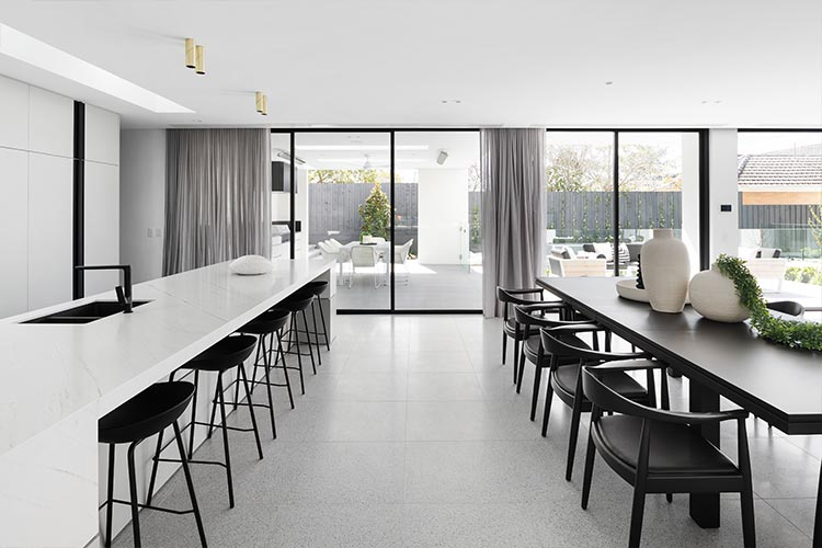 Melbourne Display Home Dining room