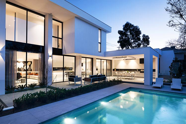 Melbourne Display home Outdoor Entertainment