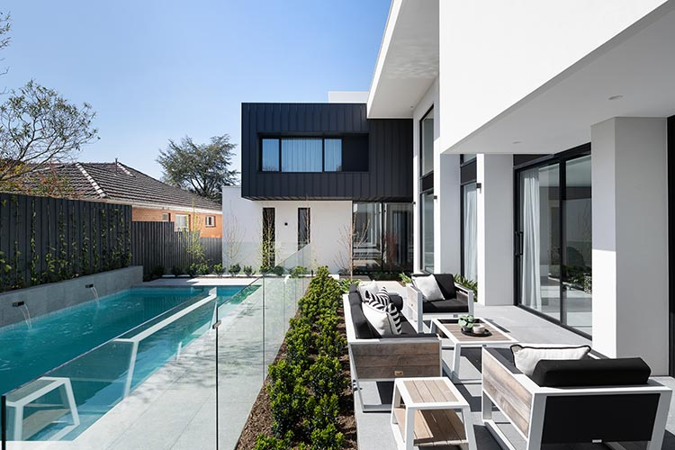 melbourne display home outdoor