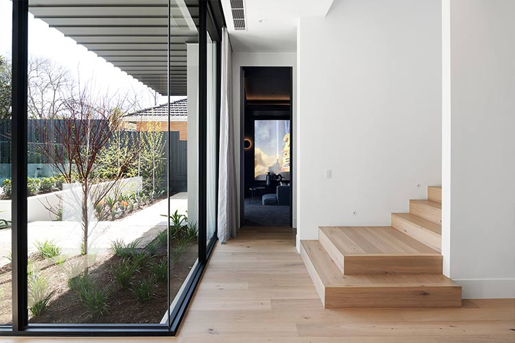 Melbourne Display Home stairs