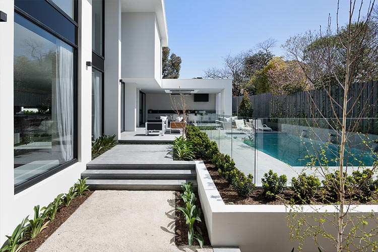 Melbourne Display Home swimming